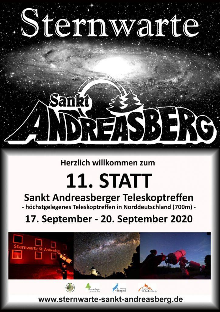 STATT 2019 10. Sankt Andreasberger Teleskoptreffen @ Sternwarte St.Andreasberg | Sankt Andreasberg | Niedersachsen | Deutschland