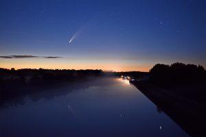 Der Komet Neowise